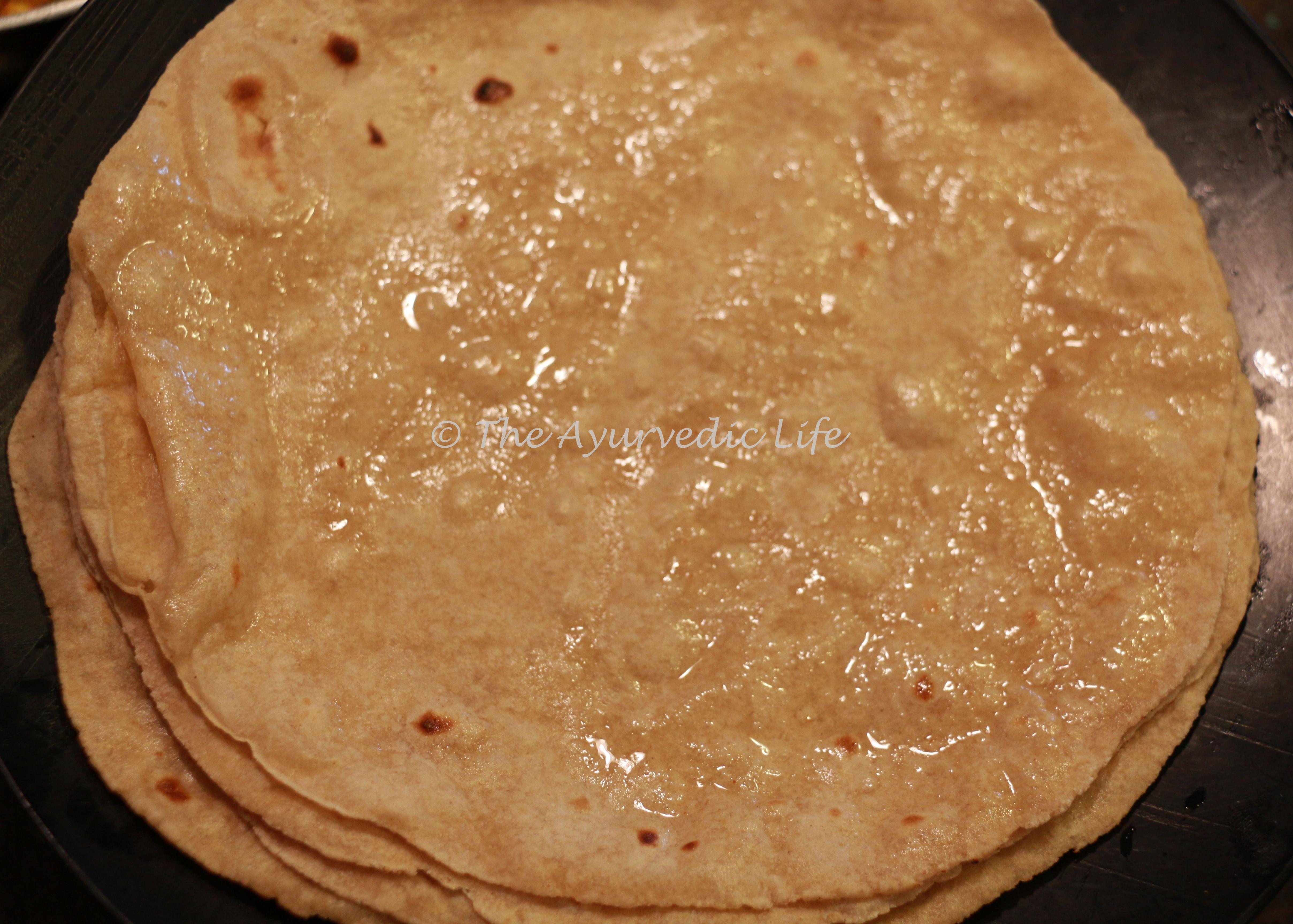 Chapati/Roti (Indian flat bread)